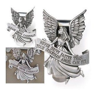 Guardian Angel Pewter Auto Visor Clip (Inspirational) : Other Products : Everything Else