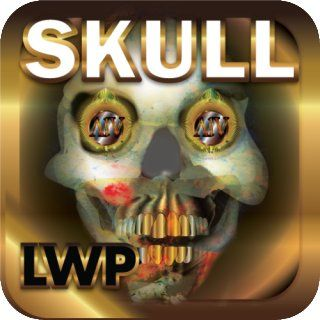 Skull Fire LWP HD+ Halloween Live Wallpaper: Appstore for Android