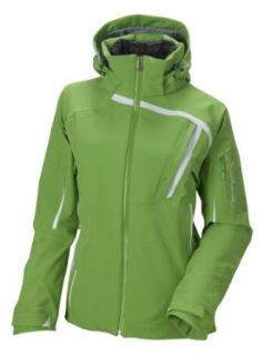 Salomon Women's S Line 3:1 Jacket, Green Bean/White/Black, Large: Clothing