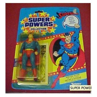 "Superman Super Powers Collection 5"" Figure with Comic Book Toys & Games"