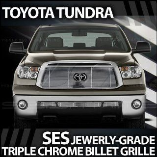 2010 2012 Toyota Tundra SES Chrome Billet Grille (top & bottom): Automotive