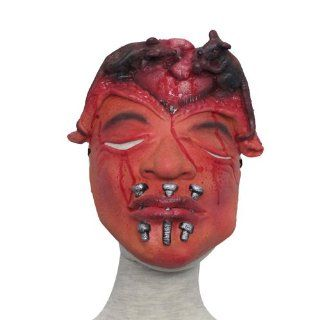 Scary Mouth Sewed Man Dress Up Costume Mask for Halloween Masquerade Party (6400 22) Toys & Games
