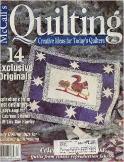 McCall's Quilting Magazine, February 2001 (Volume 8, Number 1) Beth Hayes Books