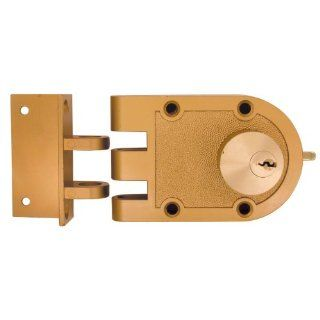 Ultra Hardware 44850 Jimmy Proof Deadlock Double Cylinder Brass   Door Dead Bolts