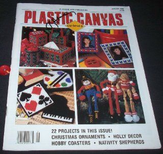 Plastic Canvas Corner January, 1996 (Volume 7, Number 2): Anne Van Wagner Childs: Books