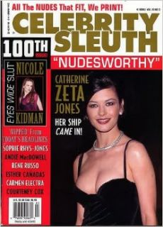 Celebrity Sleuth Magazine: Volume 13 Number 3 (2000): Nude Celebrity Magazine   Catherine Zeta Jones, Nicole Kidman [ADULT]: Books