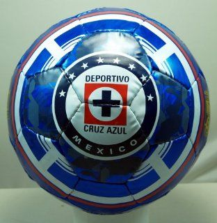 CRUZ AZUL FC OFFICIAL SIZE 5 SOCCER BALL   102 : Sports & Outdoors