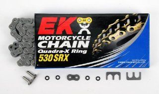 EK Chain 530 SRX Chain   108 Links   Natural , Chain Type: 530, Chain Length: 108, Color: Natural, Chain Application: All 530SRX 108: Automotive