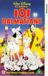 One Hundred and One Dalmatians [VHS]: Rod Taylor, Betty Lou Gerson, Glenn Close, Jeff Daniels, J. Pat O'Malley, Martha Wentworth, Ben Wright, Cate Bauer, David Frankham, Frederick Worlock, Lisa Davis, Tom Conway, Clyde Geronimi, Hamilton Luske, Stephen