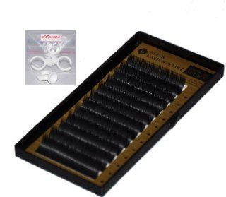 Eyelash Extension Blink Signature Mink B Curl .25mm X 7 14mm 8 Sizes in 1 Mixed Tray: Beauty