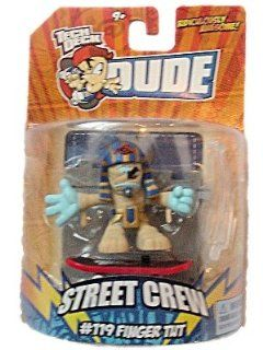 Tech Deck Dude Ridiculously Awesome Street Crew #119 Finger Tut: Toys & Games