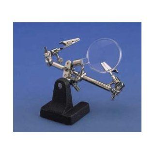 DOUBLE CLAMP W/STAND + MAG   Double Clamp with Stand and Magnifier, Aven Tools   Model 47743 114: Health & Personal Care