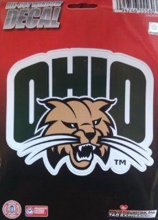 "Ohio Bobcats 5"" Vinyl Die Cut Decal Sticker Emblem University of: Automotive"