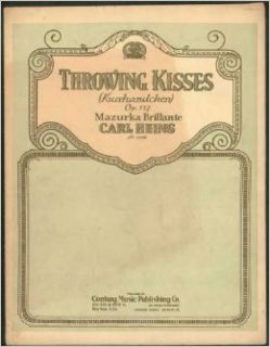 Throwing Kisses (Kusshandchen) Op. 127.: Carl (Music) Heins: Books