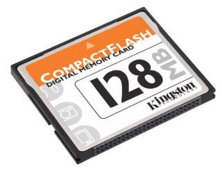 Kingston Technology CF/128 128MB Compactflash Card ( CF/128   ) (Retail Package): Electronics