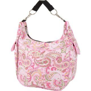 The Bumble Collection Chloe Convertible Bag, Pink Paisley : Diaper Tote Bags : Baby