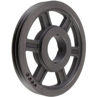 TL SPZ132X2.1610 Ametric� Metric 132 mm Outside Diameter, 2 Groove SPZ/10 Dynamically Balanced Cast Iron V Belt Pulley / Sheave,For 1610 Taper Lock Bushing, (Mfg Code 1 013) Industrial & Scientific
