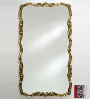 Afina Corporation TT 129 SV 60 in.x 36 in.Rectangular Timeless Traditional Wall Mirror   Antique Silver   Floor Mirrors