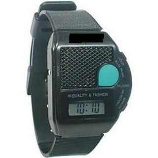 Talking Wrist Watch w/Alarm E Z to See and Press Blue Button for Time: Health & Personal Care