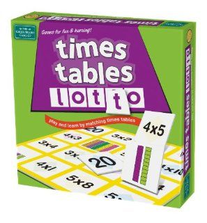 Times Tables Lotto: Toys & Games