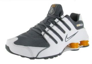 Nike Shox NZ Mens Running Shoes 378341 138 White 13 M US: Shoes