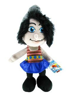 "Movie The Smurfs 10"" Plush Figure Doll   Vexy Smurf: Toys & Games"