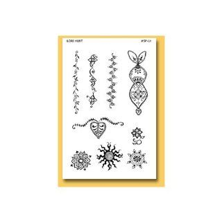 Earth Henna Lori Hunt Series Bands & Mandalas Stencil Paks: Beauty