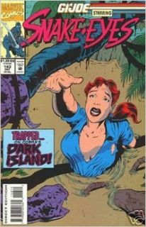 G.I. Joe #143 (Trapped on Cobra's Dark Island, 143): Eric Fein, Jesse D'Orozco, Tim Tuohy, Dave Sharpe, Vic Sutherland, Tom Mandrake, M. Hands, Rick Parker, Bob Sharen, Mike Lackey, Tom DeFalco: Books