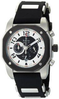 Bulova Men's 98B139 Marine Star Black Dial Watch: Bulova: Watches