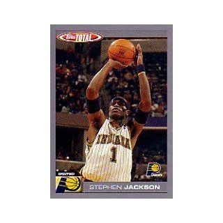 2004 05 Topps Total Parallel #141 Stephen Jackson: Sports Collectibles