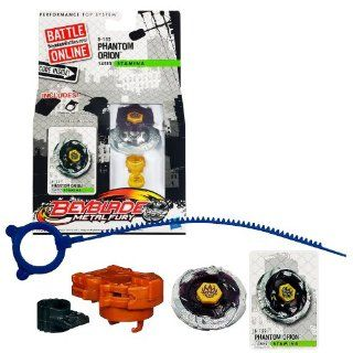 Hasbro Year 2012 Beyblade Metal Fury Performance Battle Tops   Stamina 145ES B 152 PHANTOM ORION with Face Bolt, Orion Energy Ring, Phantom Fusion Wheel, 145 Spin Track, ES Performance Tip and Ripcord Launcher Plus Online Code: Toys & Games