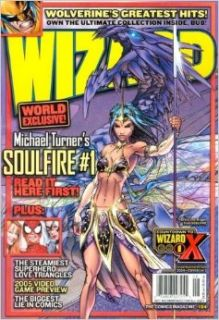 Wizard: The Comics Magazine, No. 154; August 2004; Cover 1 of 3: Grace and Dragon from Soulfire: Pat McCallum: Books