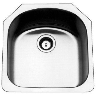 Kindred KSS2U/9 D Shaped Single Bowl Undermount Stainless Steel Kitchen Sink: Toys & Games