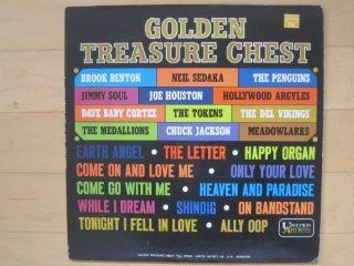 Golden Treasure Chest. 1963 vinyl LP with Brook Benton, Chuck Jackson, Neil Sedaka, Penguins, Meadowlarks: Music