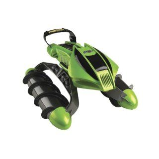 Hot Wheels R/C Terrain Twister Vehicle (Green) with Battery Pack System: Toys & Games