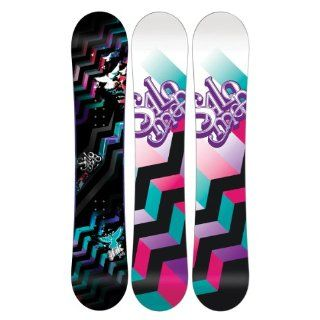Salomon Lark Rocker Women's Snowboard 151 : Freestyle Snowboards : Sports & Outdoors