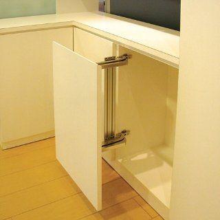 Lateral Opening Door Hinge Set (Hardware for One Door): Home Improvement