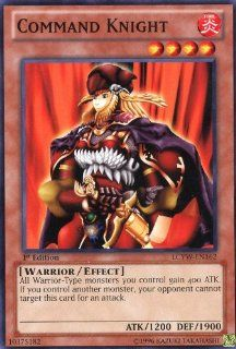 Yu Gi Oh!   Command Knight (LCYW EN162)   Legendary Collection 3: Yugi's World   Limited Edition   Common: Toys & Games