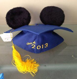 Disney Park Exclusive 2013 Graduation Mickey Mouse Ears Hat NEW  Wedding Ceremony Accessories