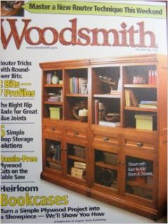 Woodsmith Magazine, Vol. 27, No.159, June/July 2005: Donald B. Peschke: Books
