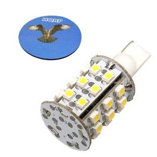 HQRP T10 #194 #168 W5W Wedge Base 30 LEDs SMD LED Bulb Warm White Replacement for Hinkley landscape light plus HQRP Coaster: Home Improvement
