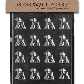 Dress My Cupcake DMCE164SET Chocolate Candy Mold, Lam, Set of 6: Kitchen & Dining