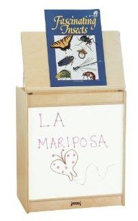 "Write n Wipe Big Book Easel (Natural) (30""H x 24.5""W x 15""D) Furniture & Decor"