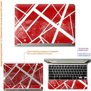 "Decalrus   Matte Decal Skin Sticker for Google Samsung Chromebook with 11.6"" screen (IMPORTANT read: Compare your laptop to IDENTIFY image on this listing for correct model) case cover Mat_Chromebook11 167: Computers & Accessories"