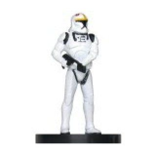 Star Wars Miniatures: Clone Trooper Pilot # 20   Galaxy at War: Toys & Games