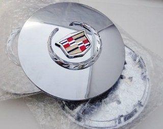 """CADILLAC DTS DEVILLE 17"""" CENTER CAP SET WITH CHROME FACTORY EMBLEM Automotive"""
