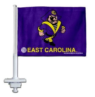 East Carolina Petey Pirate Design Truck Flag : Sports Fan Automotive Flags : Sports & Outdoors