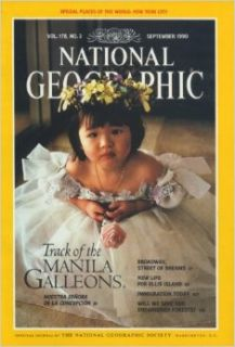 National Geographic Magazine September 1990 (Track of the Manila Galleons, Vol.178 No.3) Gilbert M. Grosvenor Books