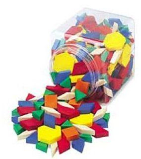 Standard Plastic Pattern Blocks: School Specialty Publishing, Carson Dellosa Publishing, Ideal School Supply: Toys & Games