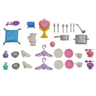 BARBIE DISNEY PRINCESS Belle's Replacement DREAM CASTLE ACCESSORIES: Everything Else